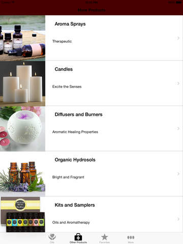 Mountain Rose Herbs Essential Oils screenshot 9