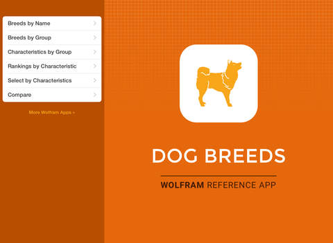 Wolfram Dog Breeds Reference App screenshot 6