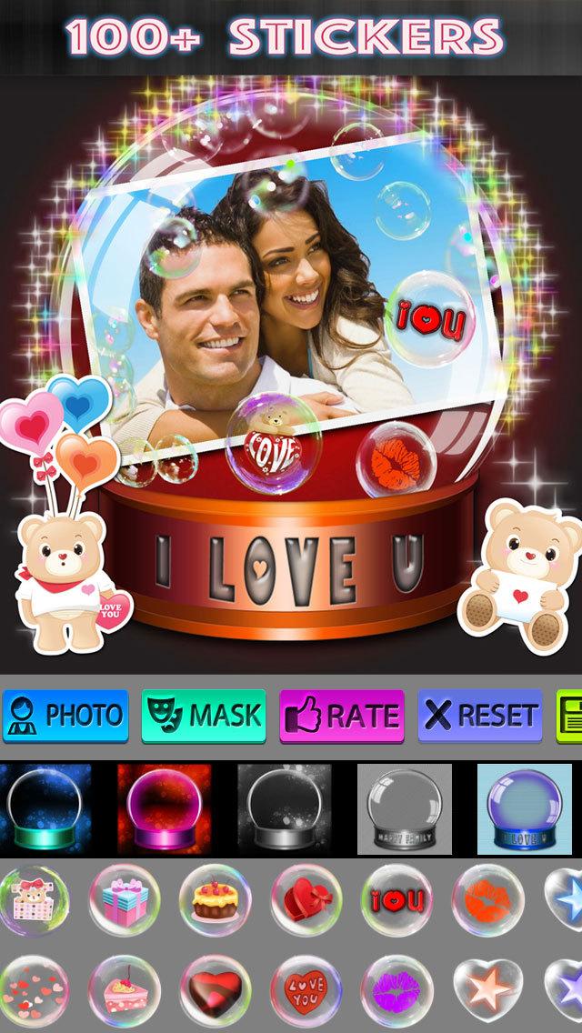 Crystal Ball Photo Frames screenshot 2