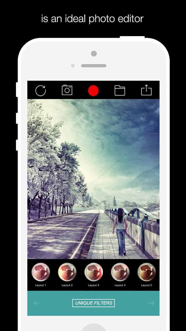 Alive Shot 360 - camera effects plus photo editor screenshot 1