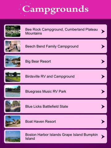 Kentucky Campgrounds Guide screenshot 7