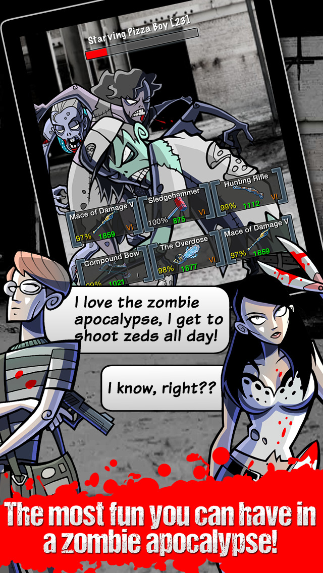 Please Stay Calm ™ - Zombie Apocalypse Survival MMO RPG screenshot 5