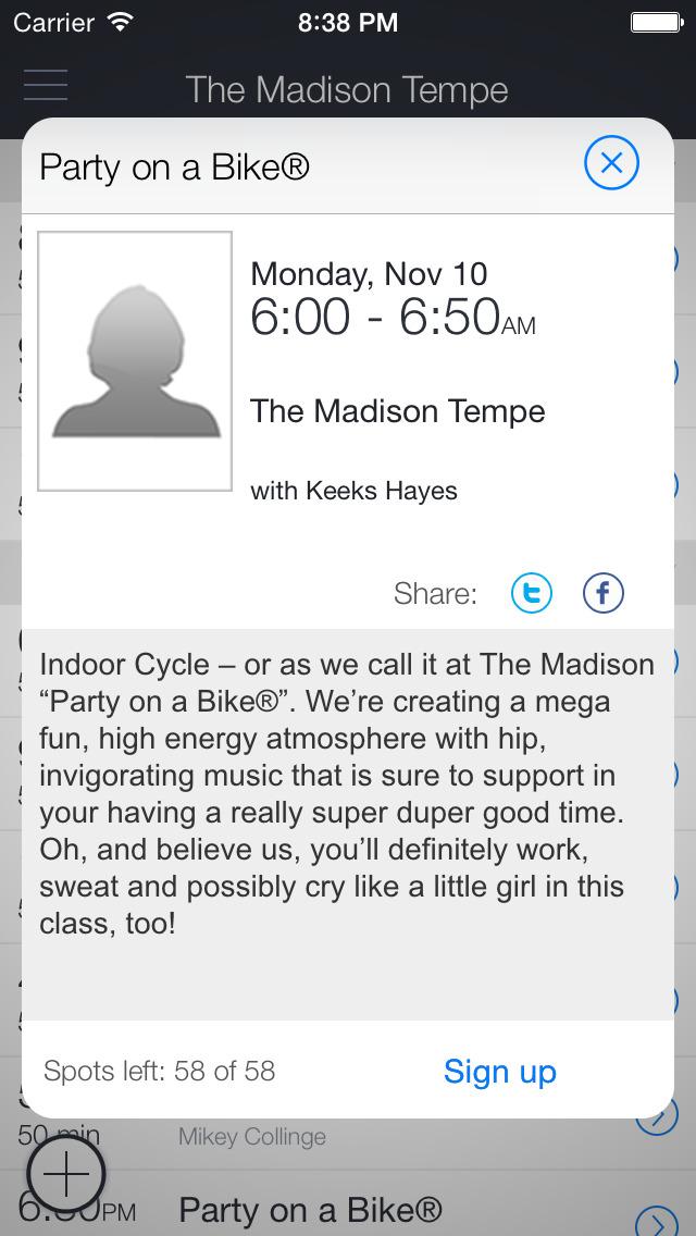 The Madison Tempe screenshot 2