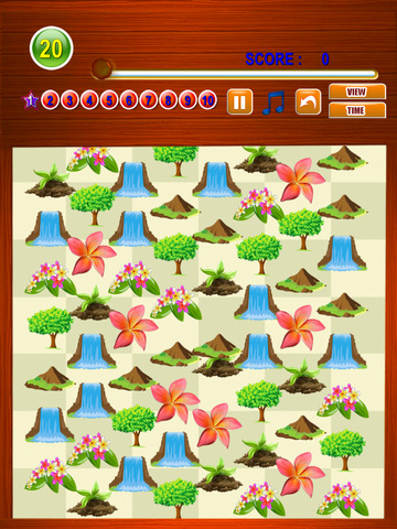 Free Match Game Nature Match Three screenshot 7
