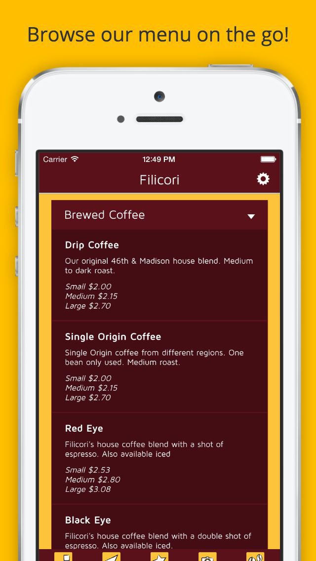 Filicori Espresso Bar screenshot 4