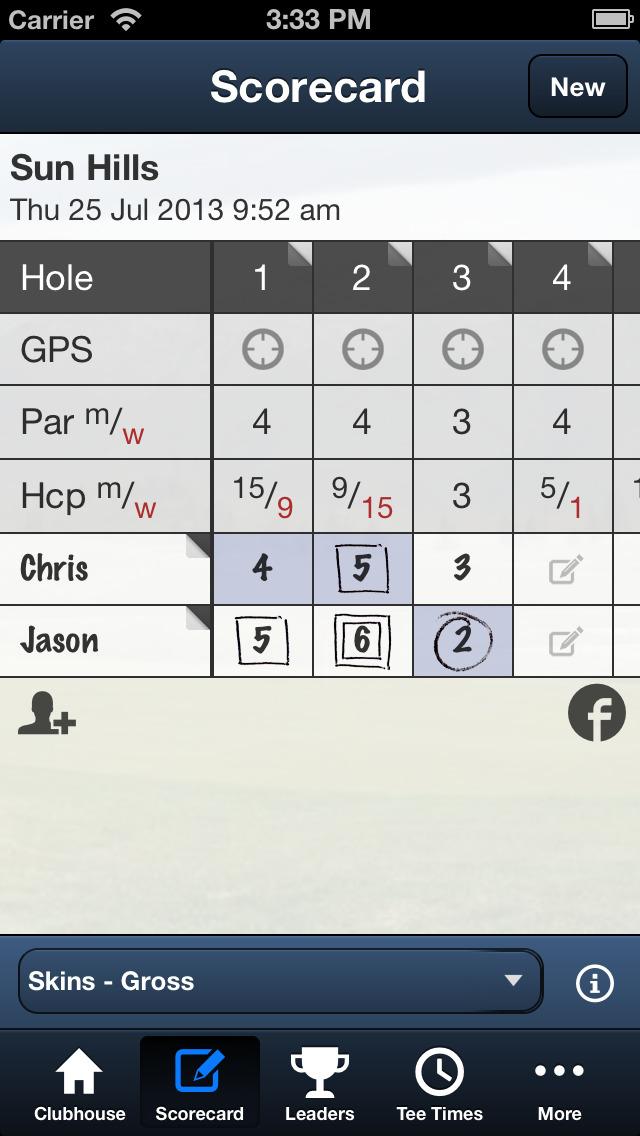 Sun Hills Golf Course screenshot 3