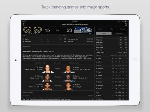 Yahoo Sports: Watch NFL games screenshot 7