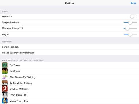 Perfect Pitch Piano Ear Training screenshot 9