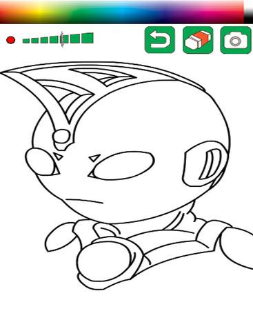 Coloring Book Ultraman Mebius