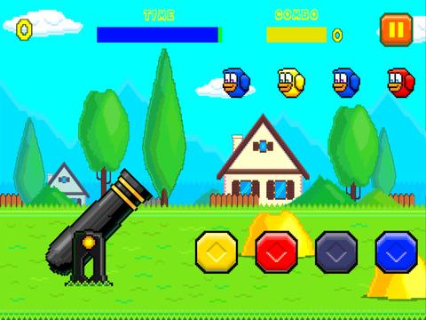 Zap the Birds - Tap circle color dot to shoot screenshot 2
