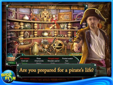 Sea of Lies: Mutiny of the Heart HD - A Hidden Object Game with Hidden Objects screenshot 2