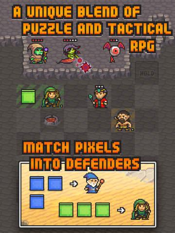 Pixel Defenders Puzzle screenshot 7