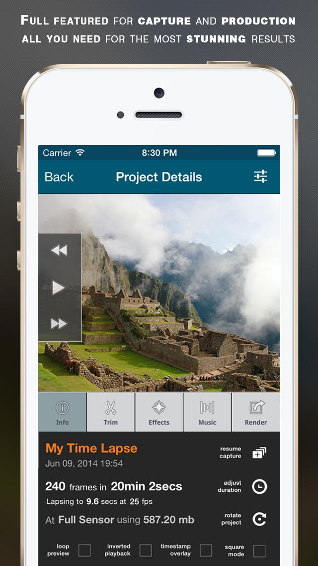 Lapse It Pro screenshot 2