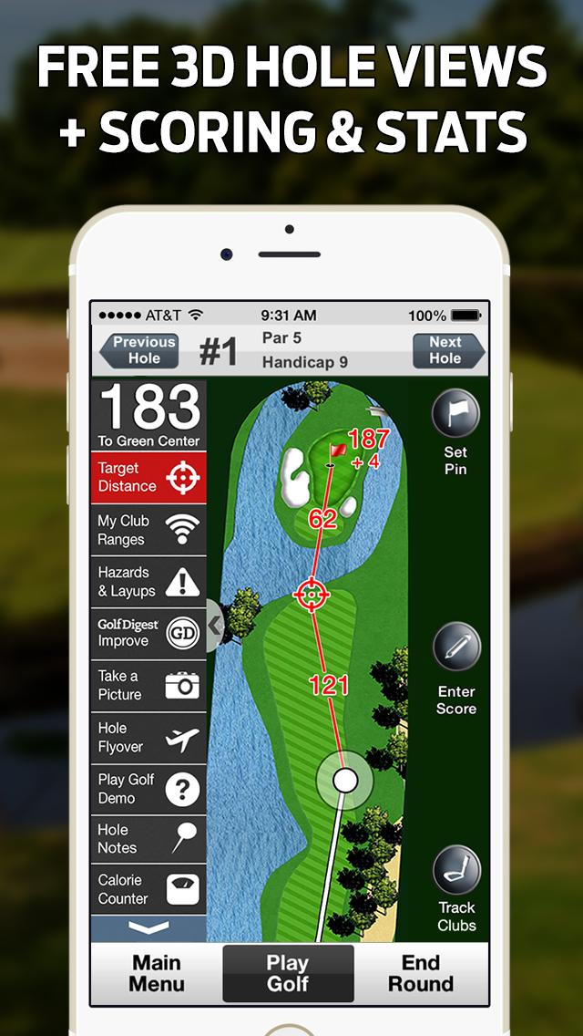 GolfLogix Golf GPS + Putt Line screenshot 2