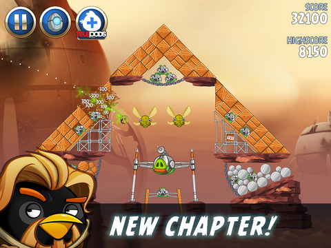 Angry Birds Star Wars II screenshot #5