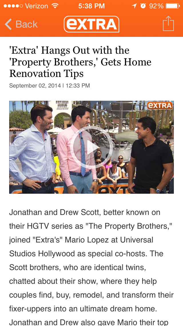 ExtraTV screenshot #5