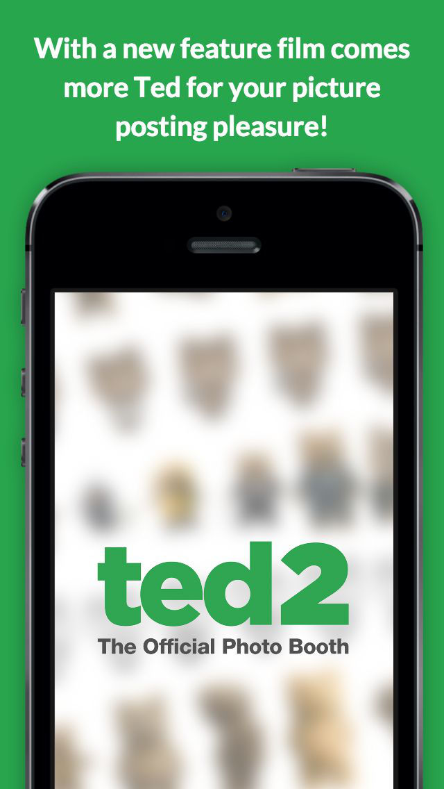Ted 2 - The Official Photo Booth screenshot 1