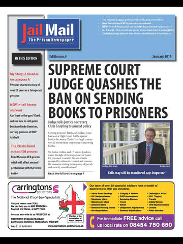 Jail Mail UK – Prison Newspaper screenshot 6