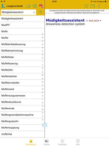 Technik und angewandte Wissenschaften Schmitt Englisch<->Deutsch Fachwörterbuch Professional screenshot 9