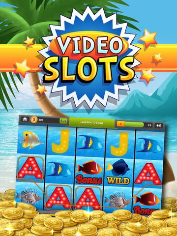 Beach Vacation Slots Fun Lucky Atlantic 777 Casino screenshot 8
