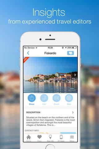 KEFALONIA by GREEKGUIDE.COM offline travel guide - náhled
