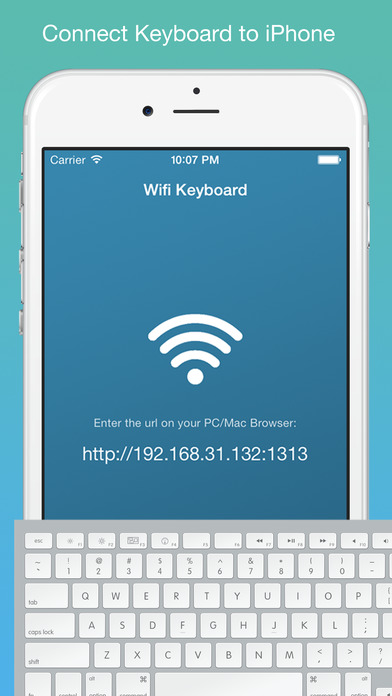 connect iphone to mac wifi keyboard connect your keyboard to iphone with 13855