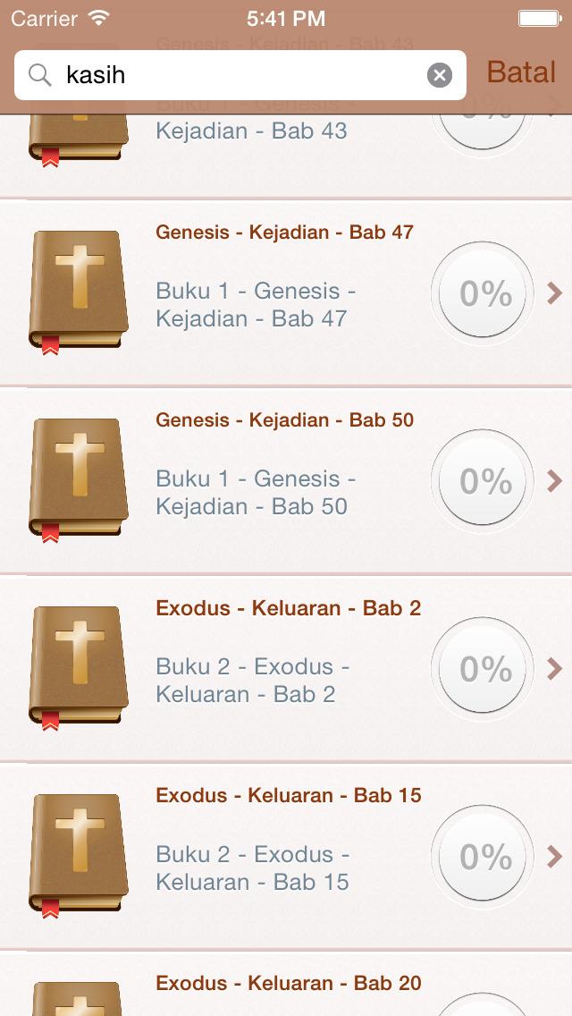 Indonesia Bahasa Alkitab screenshot 4