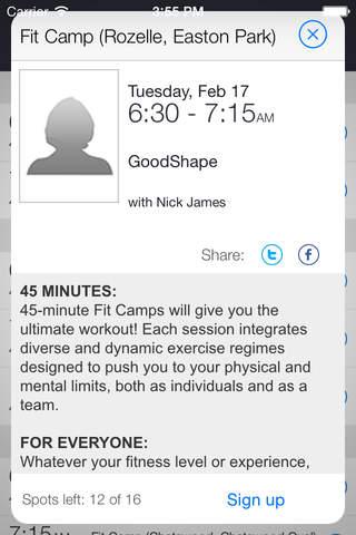GoodShape Training - náhled