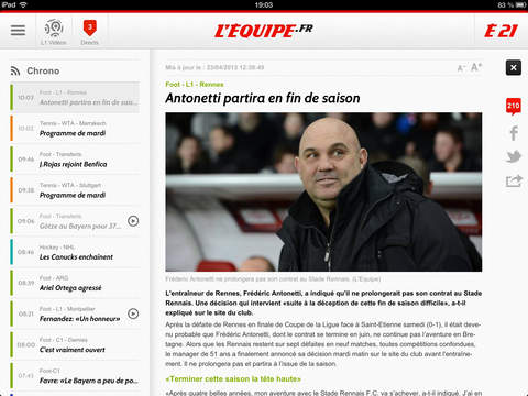 L'EQUIPE, sports en direct screenshot 7