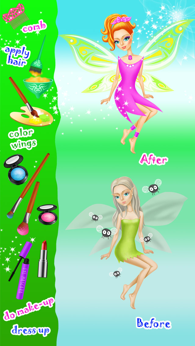 Fairyland Beauty Salon - No Ads screenshot 2