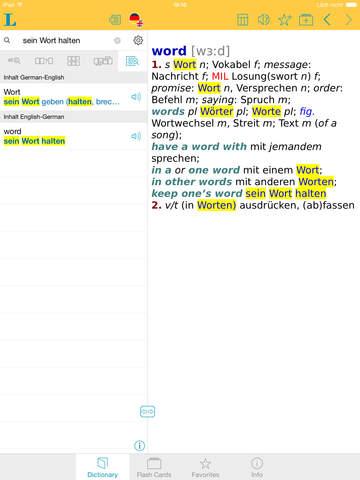 German <-> English Talking Dictionary Basic screenshot 7