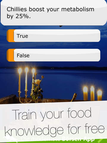 Yummy World of Food - Quiz Game: Questions & answers about