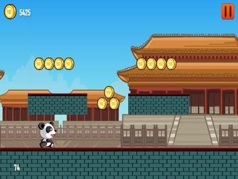 A Cute Panda Run PRO - Full Jumpy Version screenshot 8
