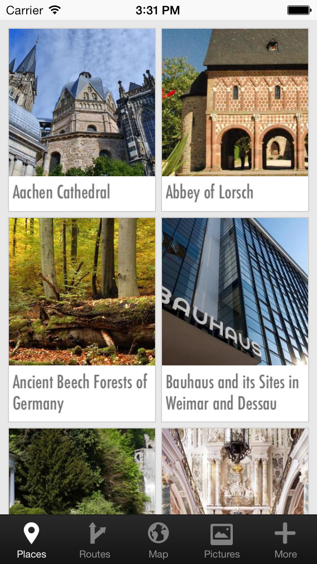UNESCO World Heritage Germany - official travel guide screenshot 2