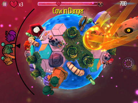 Celleste: Bug Planets screenshot #3