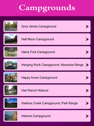 Wyoming Camping & RV Parks screenshot 7