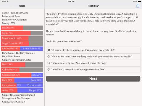 Choice of the Rock Star screenshot 9