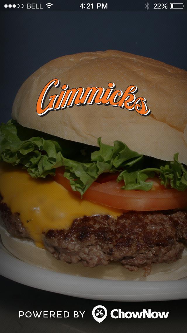 Gimmicks Restaurant screenshot 4