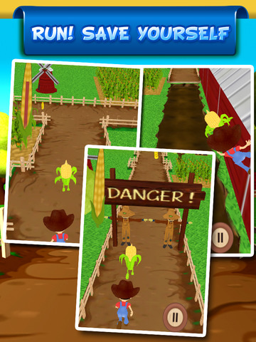``Baby Corn Run 3D Farm Race - Real Vegetable Endless Runner Dash Racing Free by Top Crazy Games screenshot 8