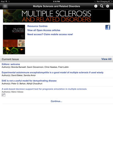 MS and Related Disorders screenshot 6