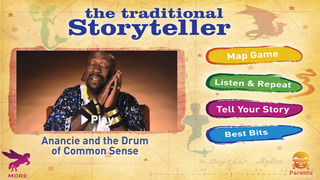 The Traditional Storyteller - Anancie and the Drum of Common Sense screenshot 1