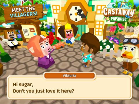 Castaway Paradise Town Builder screenshot 8