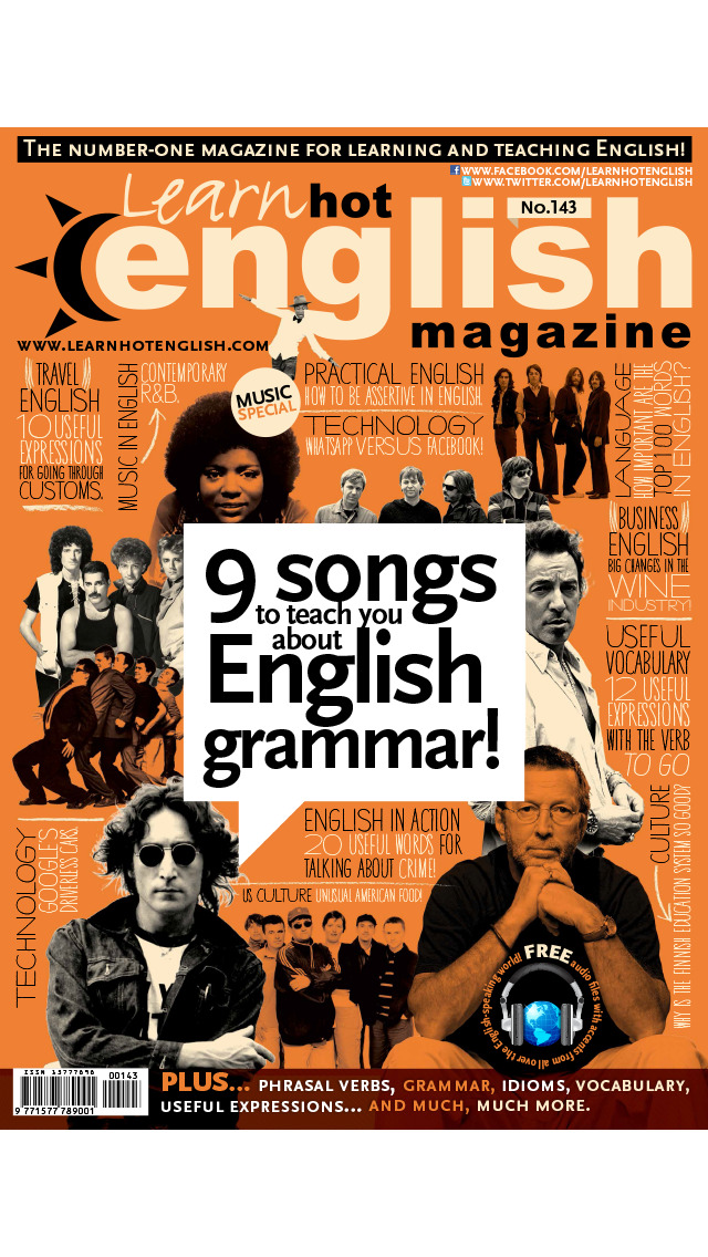 Learn Hot English Magazine screenshot 1