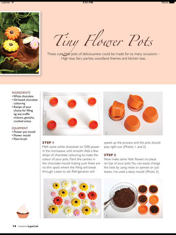Creative Sugar Craft Magazine screenshot 10