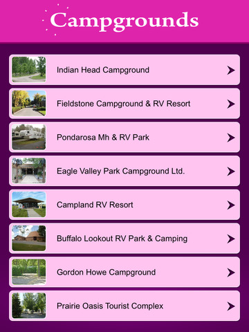 Saskatchewan Campgrounds & RV Parks screenshot 7