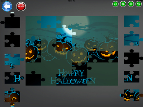 Halloween Puzzles for iPad screenshot 3