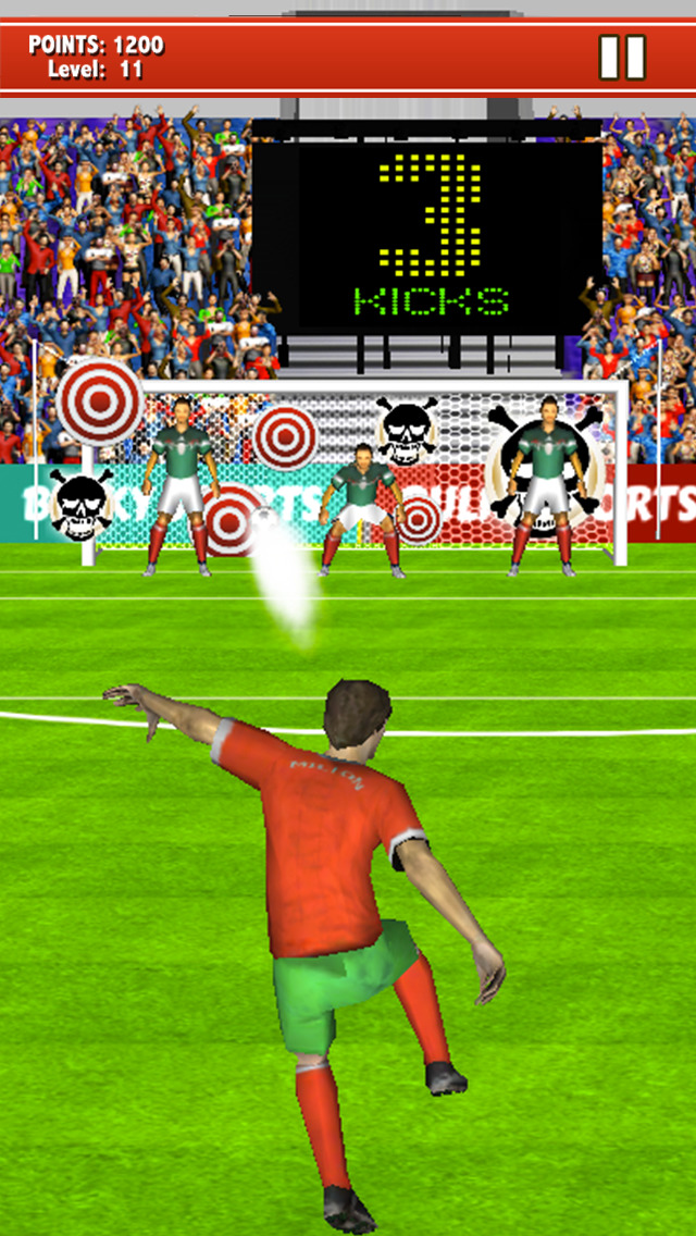 Soccer Kicks 2015 - Ultimate football penalty shootout game by BULKY SPORTS screenshot 4