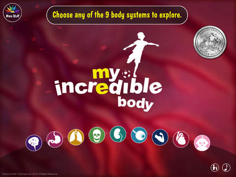 My Incredible Body - Guide to Learn About the Human Body for Children - Educational Science App with Anatomy for Kids screenshot #1