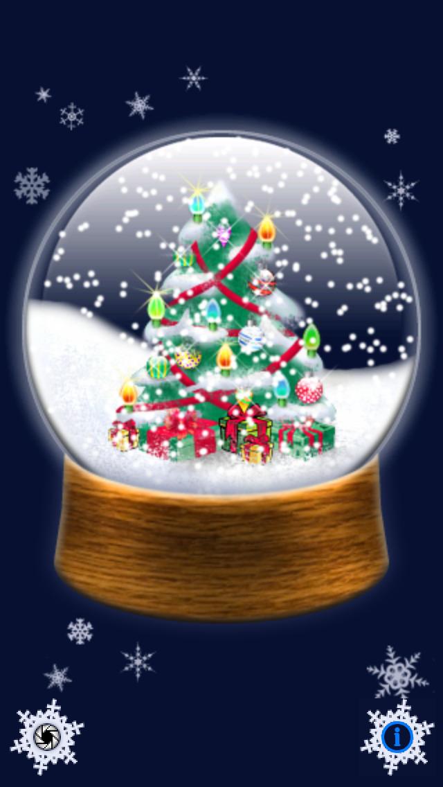 Christmas Snowglobe screenshot 1
