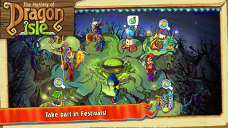 The Mystery of Dragon Isle screenshot 3